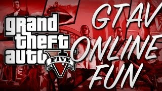 GTA V Online Fun! - Killing, Cops, Choppers & Prostitutes