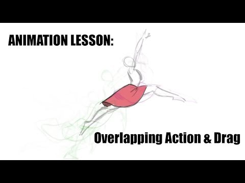 Animation Lesson - Overlapping Action and Drag