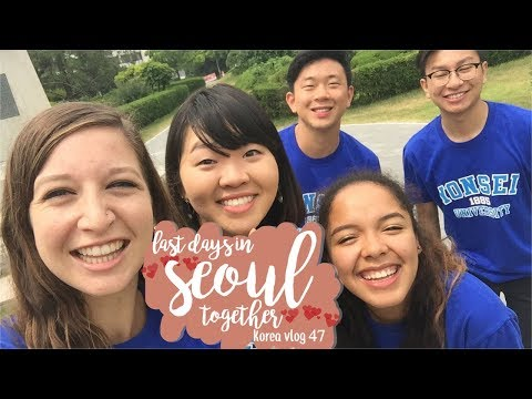 LAST DAY IN SEOUL w/ SQUAD ☹   korea study abroad vlog #47