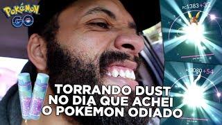 TORRANDO DUST!  A volta do Raichu de Alola Talando o Mitu e um Mítico... O Pokémon Odiado!