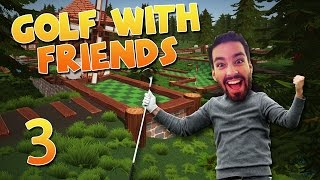 GOLFING IN WONDERLAND! - NEW MAP! (Golf With Friends #3)