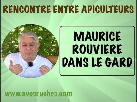 Rencontre entre apiculteurs, Maurice Rouvière dans le Gard