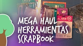 Mega Haul AliExpress Herramientas Scrapbook: Especial Scrapbook para principiantes