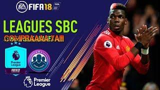 TRADEO SBC PREMIER LEAGUE!!! FIFA 18