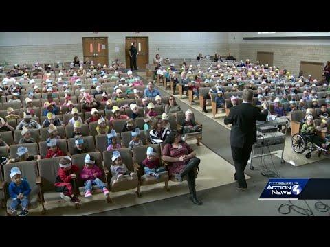 School Visit:  Homeville Elementary School in West Mifflin