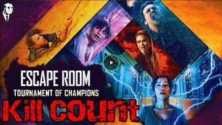 Escape Room: Tournament of Champions (2021) Kill Count 🚇🏖