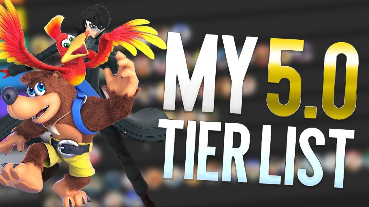 Ultimate 5 0 TIER LIST! (By Armada)