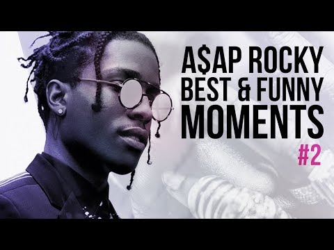 A$AP Rocky Funny and Best Moments - Funny Videos 2017
