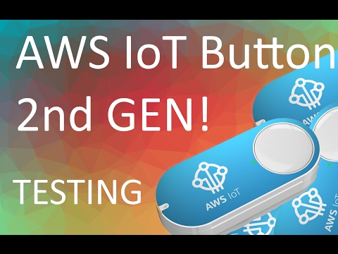 AWS IoT Button (2nd Generation) Testing!