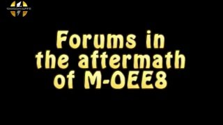 160329 Forums in the aftermath of M-OEE8