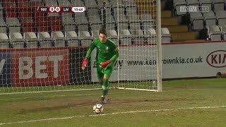 Kamil Grabara (Liverpool FC) vs. Tottenham Hotspur / 05.02.2018