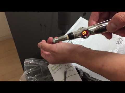 Acupuncture Pen Electric Meridian Laser Therapy for pain relief(Be careful when using it!)