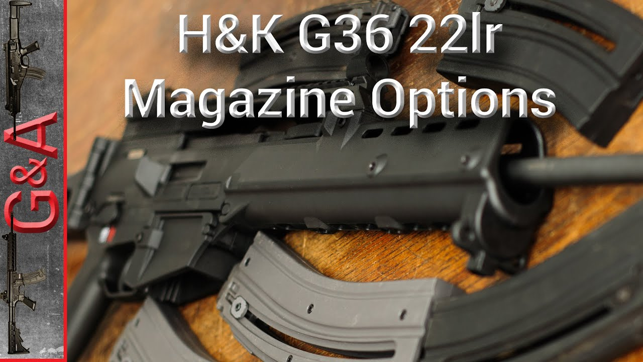 Walther H&K G36 22lr Magazines 22