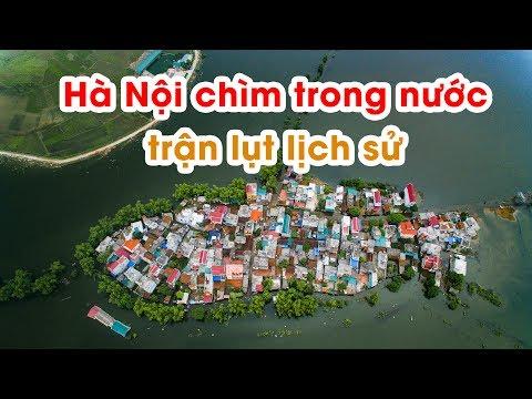 Ngôi Làng Biến Thành Ốc Đảo Tại Hà Nội Do Mưa Lũ - Nếm TV