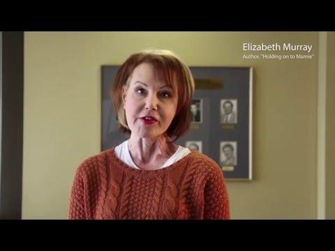 2016 Manitoba Election - Elizabeth Murray speaks about dementia