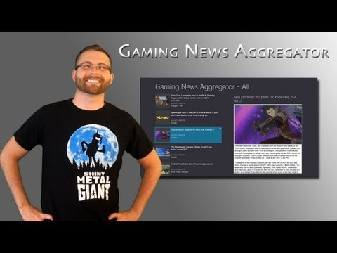 My New App - Gaming News Aggregator!