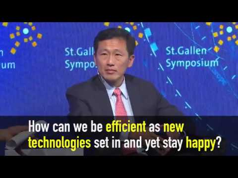 """Ong Ye Kung On """"how Can We Be Efficient As New Technologies Set In And Yet Stay Happy?"""""""