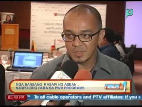 News@1: Mga bansang kasapi ng ASEAN, nagpulong para sa PWD programs