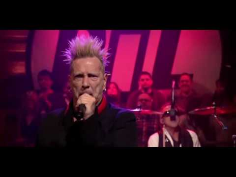 John Lydon and PiL performing