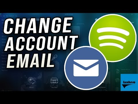 Spotify - How to Change Account Email Address