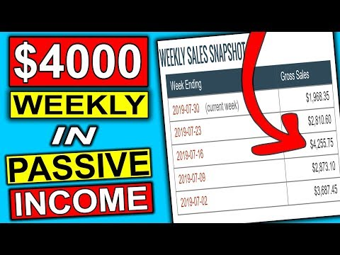 **Make $4000 A WEEK** Easy Way To Make Passive Income Online (Affiliate Marketing) thumbnail