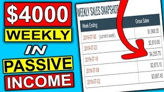 **Make $4000 A WEEK** Easy Way To Make Passive Income Online (Affiliate Marketing)
