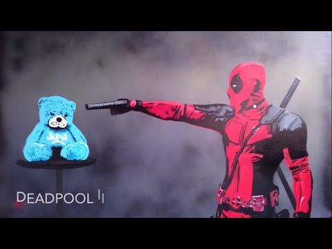 Satisfy Your OCD With This Deadpool Multilayer Stencil Time Lapse