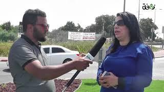 وقفة احتجاجية على اعتداء الشرطة على المربي حسين عيادات - زوفة