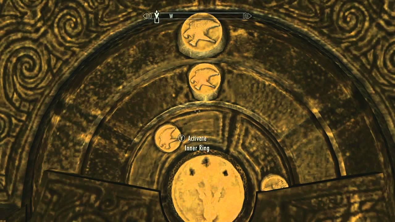 [SKYRIM] Puzzle Guide - Folgunthuru0027s Symbol Door Ivory Claw and the Gauldur Amulet - YouTube  sc 1 st  YouTube & SKYRIM] Puzzle Guide - Folgunthuru0027s Symbol Door Ivory Claw and the ...