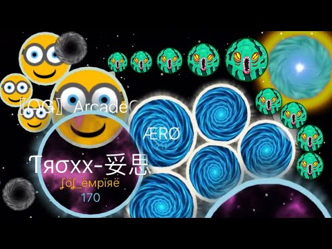 Agar.io Solo Nebulous Minion Destroying Team Agario Mobile 37K+ (Agario Best Moments)