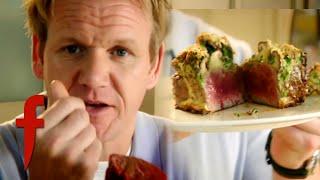 Fillet of Beef with Mushroom Gratin | Gordon Ramsay's The F Word Season 2