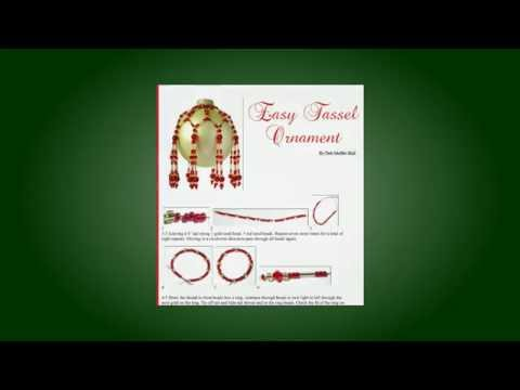 Homemade Christmas Ornaments - Free Ornament Pattern