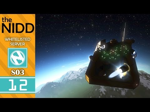Satellite Launch | 3x12 | The Nidd Whitelist | Space Engineers