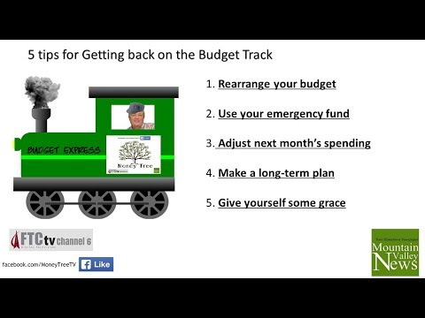 How to get back on Budget Track for 2018 | Money Tree TV - Season 2 Episode 1