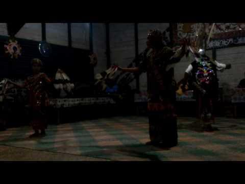 Tarian dayak punan hovongan Tanjung Lokang