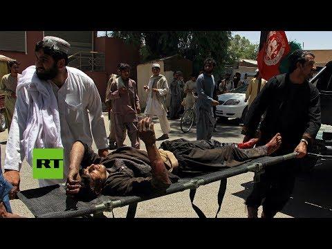 Afganistán: Explota un coche bomba cerca de un banco