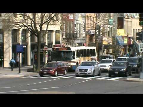 Washington DC Metro Bus April 11, 2011
