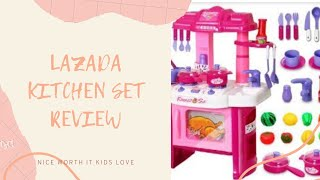 Lazada Kitchen Set Review Star Yao Youtube