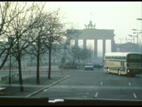 Berlin in 1981 East & West Super 8