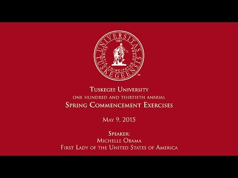First Lady Michelle Obama Commencement Speech 2015