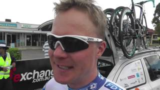 Jussi Viekkanen at the Tour Down Under