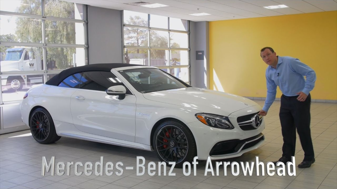 Opening the 2017 mercedes benz c class amg c 63 s from for Arrowhead mercedes benz