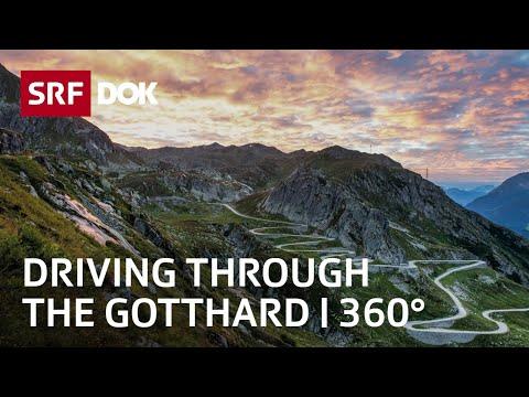 Gotthard Base Tunnel   360°   Documentation   SRF DOK