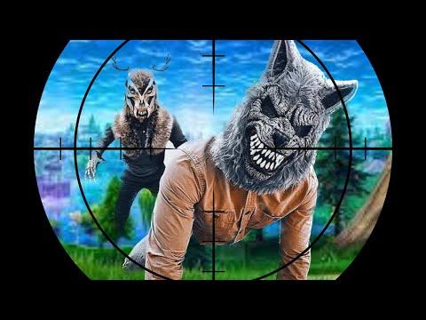 Werewolf Sneak Attack 11! Werewolf And Wendigo Nerf Fortnite Battle! |