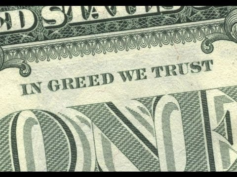 GREED is the root of all EVIL - YouTube