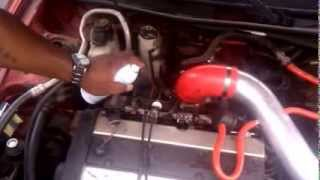 SeaFoam 98 Ford Escort ZX2 Sport 4 Cyclinder 2 0 Zetec
