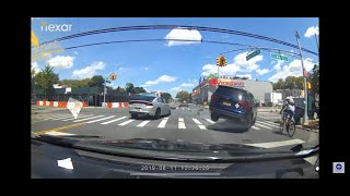 Major car Crash On Coney Island Ave and Ave L  Cyclist get Killed.