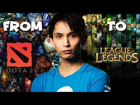Dota 2 Player Plays League Of Legends - SingSing LoL Highlights