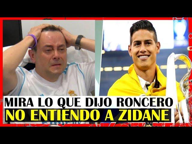 NI EN ESPAÑA ENTIENDEN QUE PASA CON James Rodriguez | Periodista Español Roncero Exige que Juegue