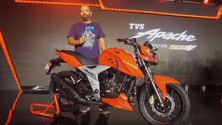 2018 Apache RTR 160 4V | Quick Walkaround Review | ZigWheels.com